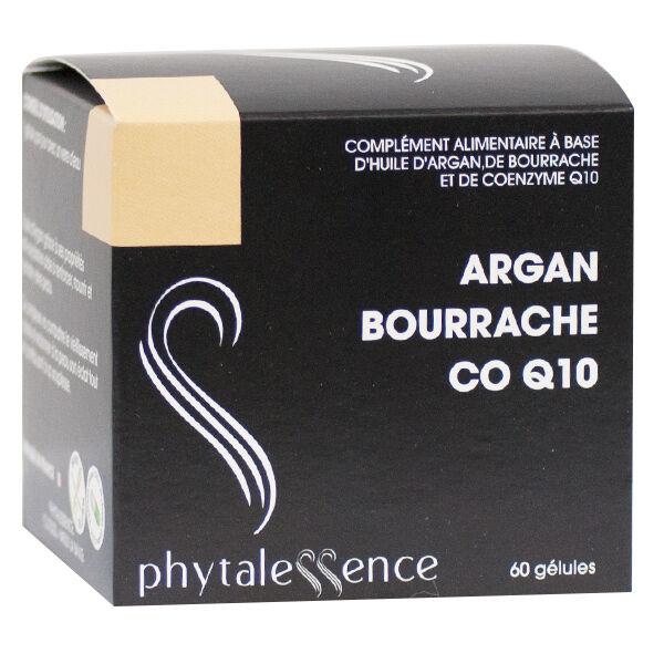 Phytalessence Argan Bourrache Q10 60 gélules
