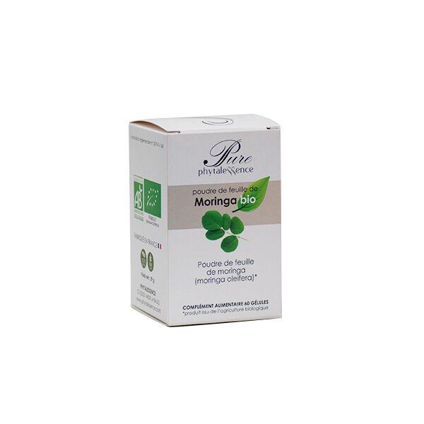 Phytalessence Poudre de Moringa Bio 60 gélules