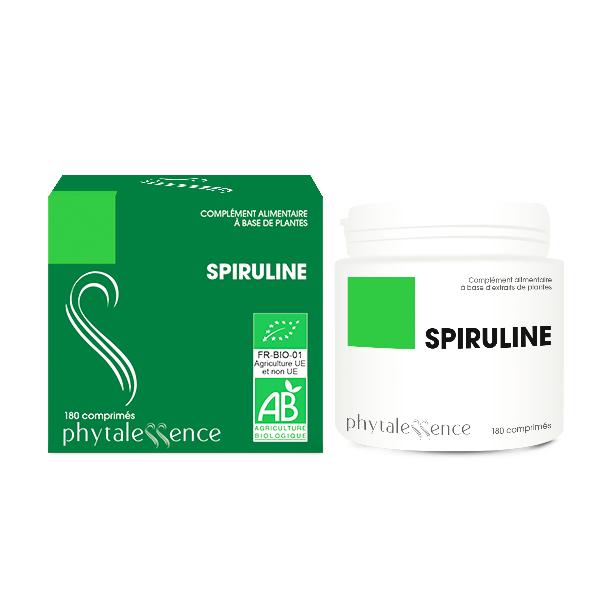 Phytalessence Spiruline Bio 180 comprimés