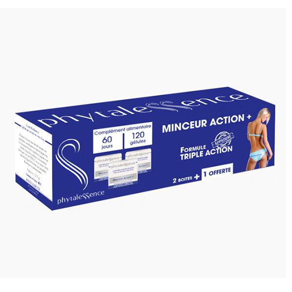 Phytalessence Minceur Action+ Lot de 3 x 40 gélules