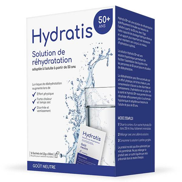 Hydratis 50+ Neutre 16 sachets