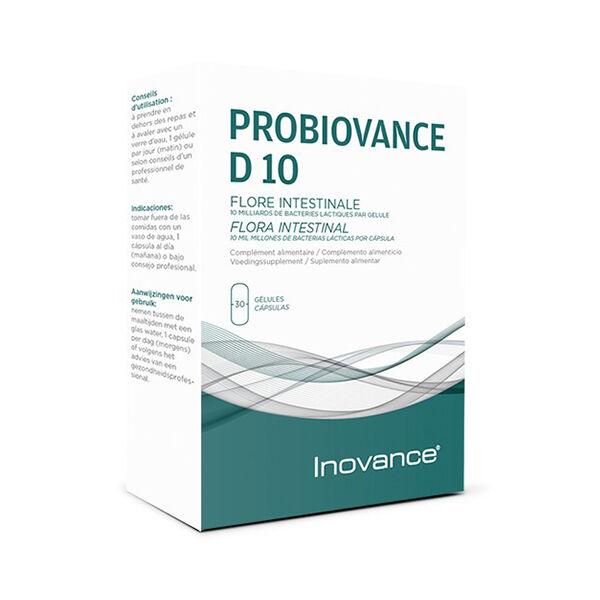 Inovance Probiovance D10 30 gélules