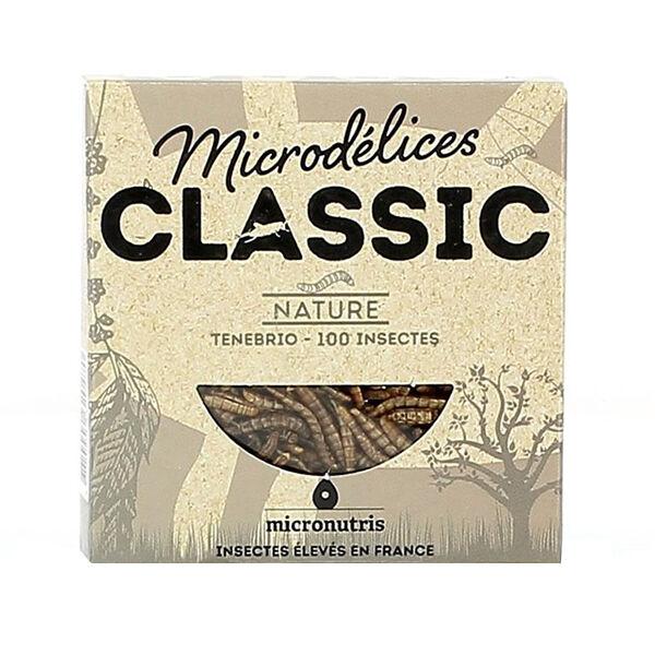 Micronutris Insectes Apéritifs Ténébrio Saveur Nature 5g