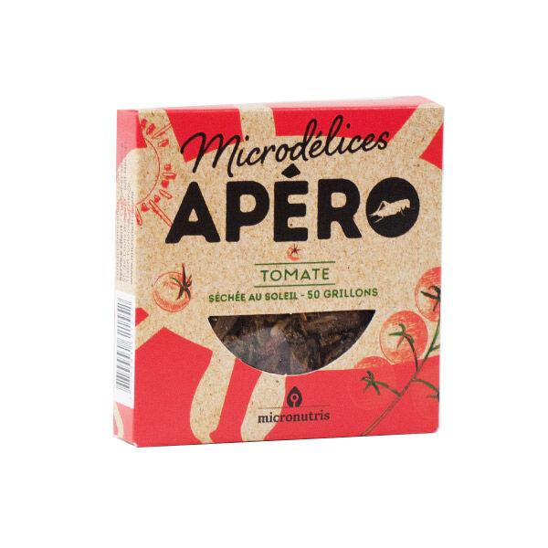 Micronutris Insectes Apéritifs Grillons Saveur Tomate Séchée 5g