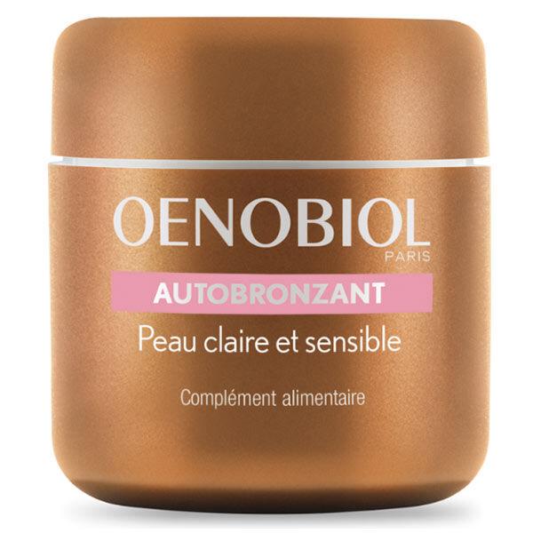 Oenobiol Autobronzant Peau Claire et Sensible 30 capsules