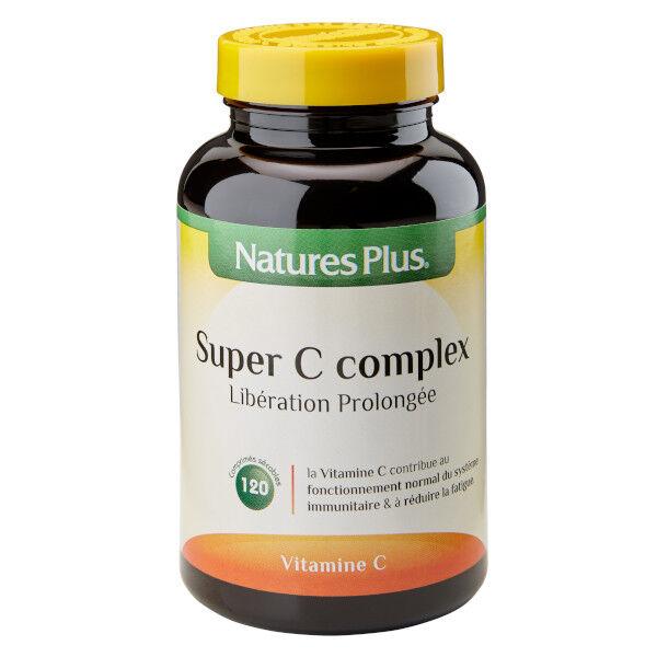 Nature's Plus Super C Complex Libération Prolongée 120 comprimés