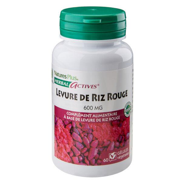Nature's Plus Levure de Riz Rouge 60 gélules
