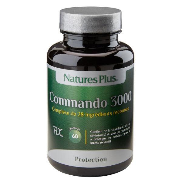 Natures Plus Nature's Plus Commando 3000 60 comprimés