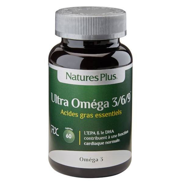 Natures Plus Nature's Plus Ultra Oméga 3/6/9 60 capsules