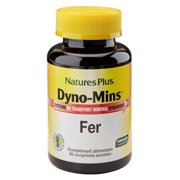 Natures Plus Nature's Plus Dyno-Mins Fer 90 comprimés