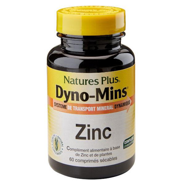 Natures Plus Nature's Plus Dyno Mins Zinc 60 comprimés