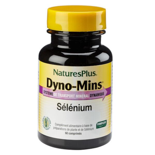 Natures Plus Nature's Plus Dyno-Mins Sélénium 60 comprimés