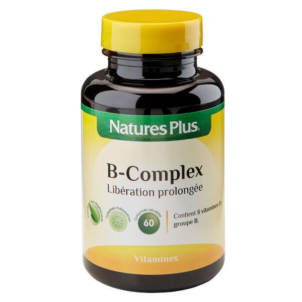 Natures Plus Nature's Plus B-Complex Suractivé 60 comprimés
