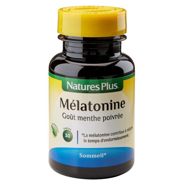 Natures Plus Nature's Plus Mélatonine 30 comprimés