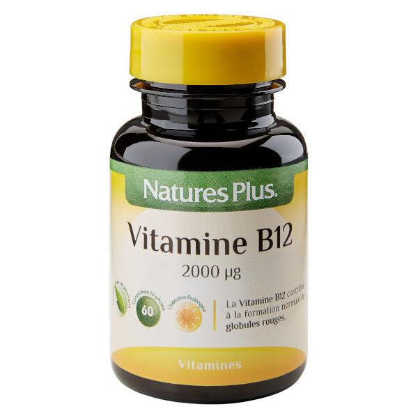 Natures Plus Nature's Plus Vitamine B12 60 comprimés