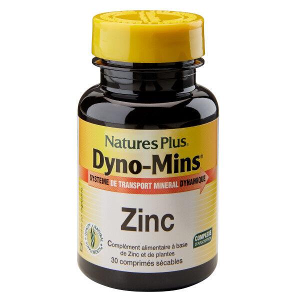 Natures Plus Nature's Plus Dyno-Mins Zinc 30 comprimés