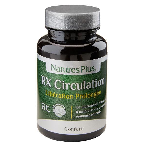 Natures Plus Nature's Plus RX Circulation 30 comprimés