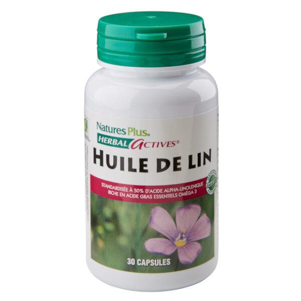 Natures Plus Nature's Plus Huile de Lin 1300mg 30 capsules