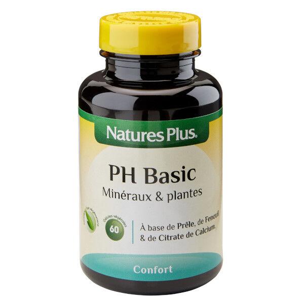 Natures Plus Nature's Plus PH Basic 60 gélules