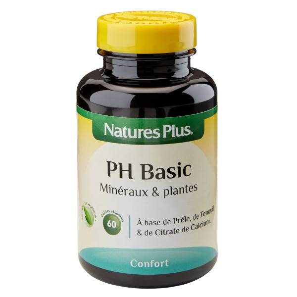 Nature's Plus PH Basic 60 gélules
