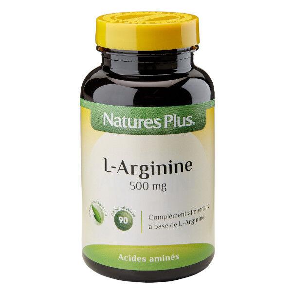 Nature's Plus L-Arginine 500mg 90 gélules