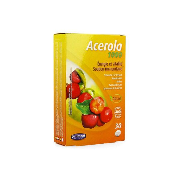Orthonat Acerola 1000 30 comprimés