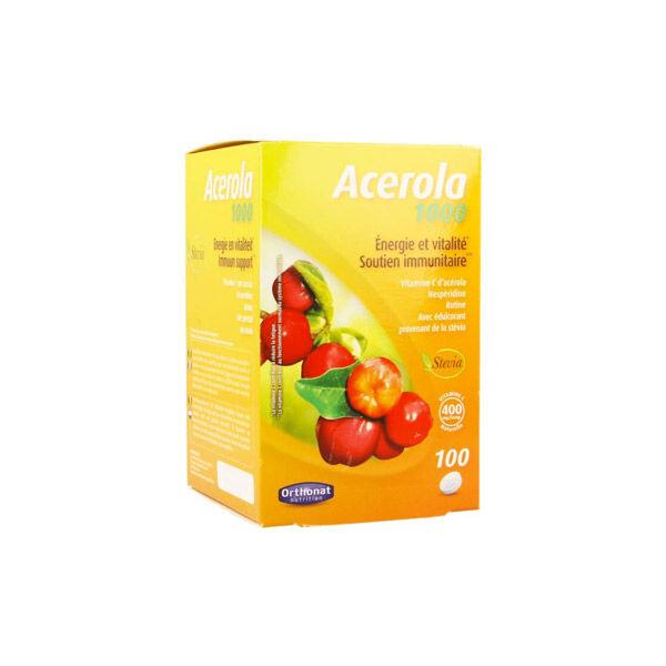 Orthonat Acerola 1000 100 comprimés