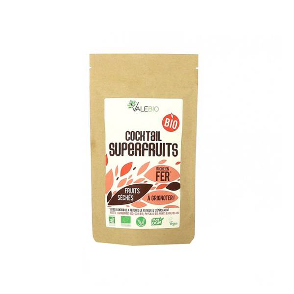 Valebio Cocktail Superfruits Bio 120g