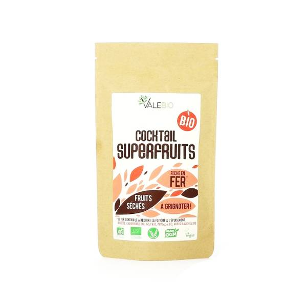 Valebio Cocktail Superfruits Bio 50g - Offert