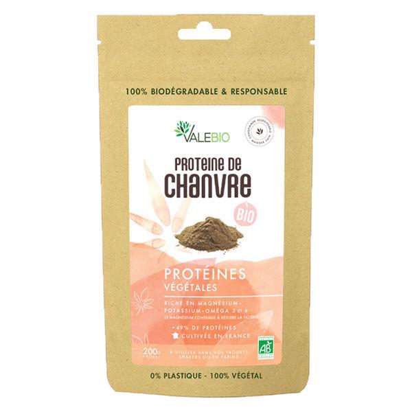 Valebio Protéine de Chanvre Bio 200g