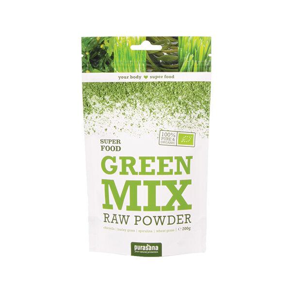 Purasana Green Mix Poudre Bio 200g