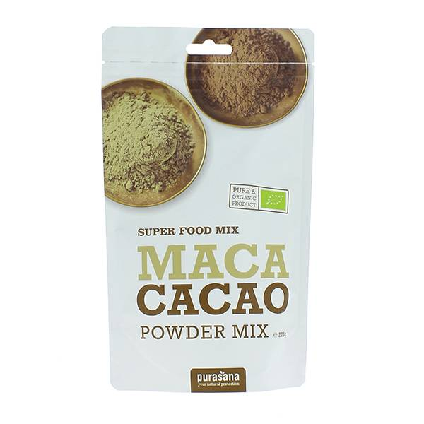 Purasana Maca Cacao Poudre Bio 200g