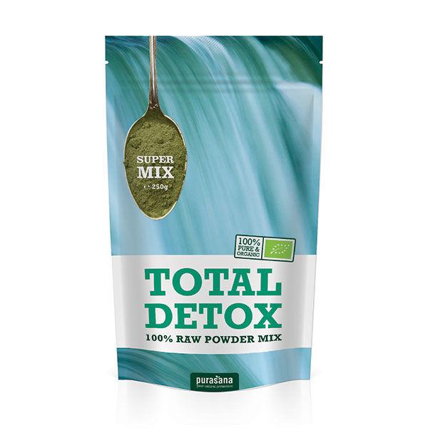Purasana Mélange Total Detox Poudre Bio 250g