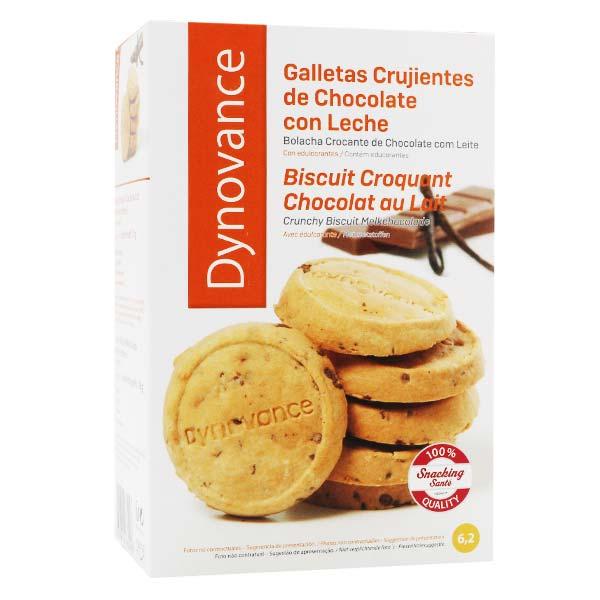 Inovance Dynovance Biscuit Croquant Chocolat au Lait 8 unités