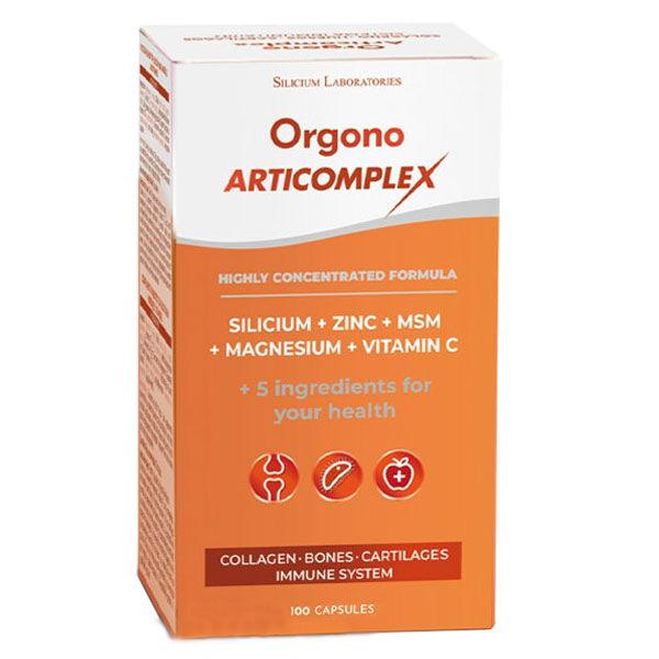 Silicium Espana Orgono Articomplex 100 capsules