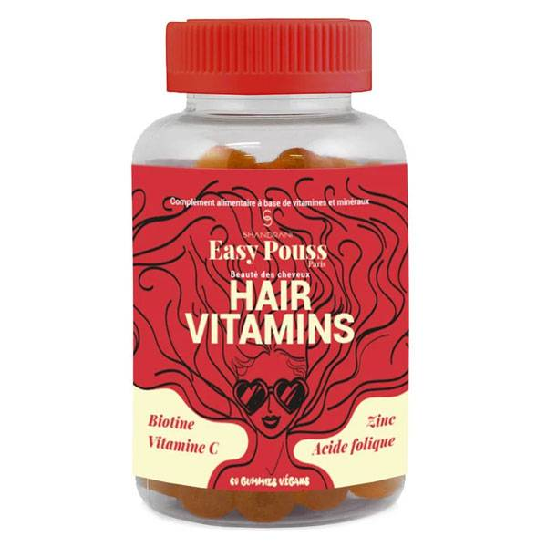Easy Pouss Hair Vitamines 60 gummies