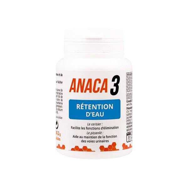 Anaca3 Rétention d'Eau 60 gélules