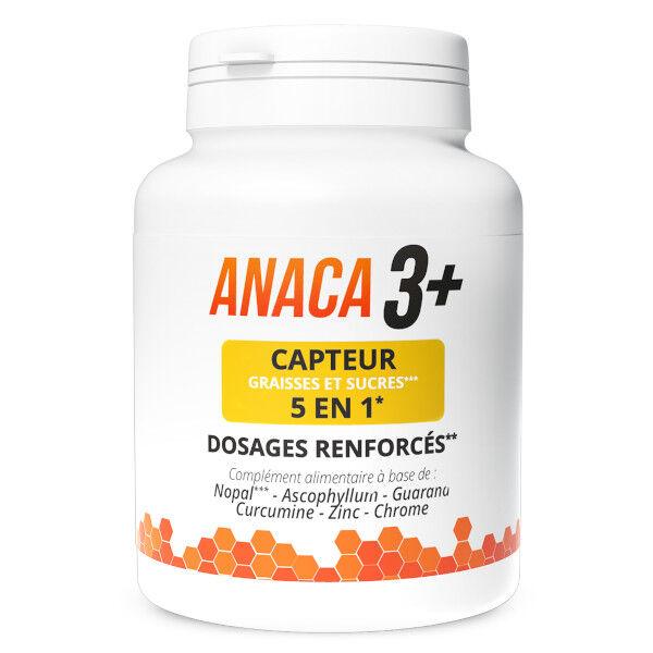 Anaca3+ Capteur 5 en 1 Graisses et Sucres 120 gélules