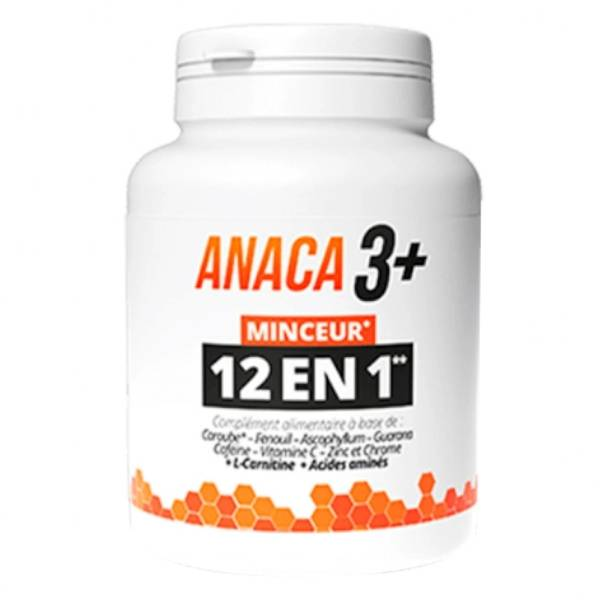 Anaca3+ Minceur 12 en 1 120 gélules