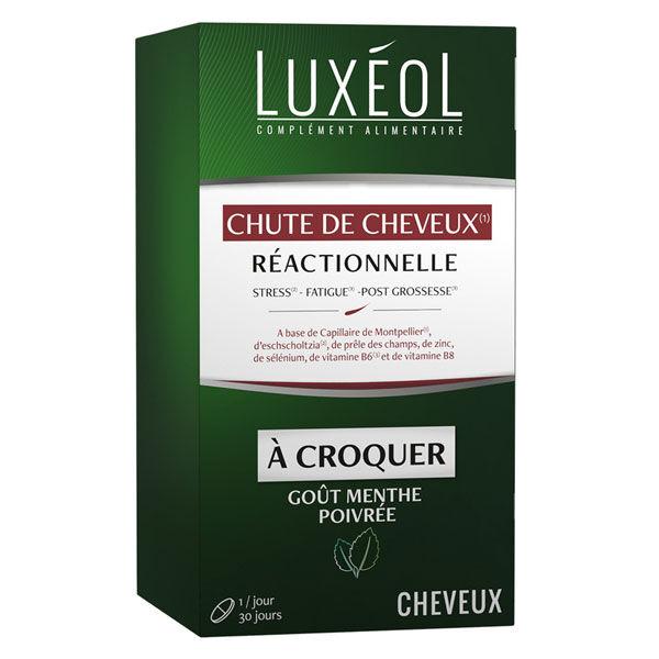 Luxéol Chute de Cheveux Réactionnelle 30 comprimés à croquer