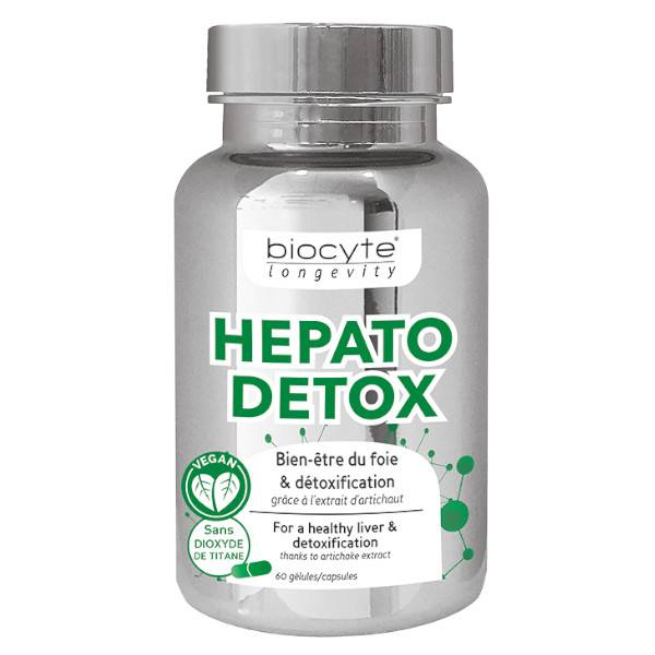 Biocyte Hépato Détox 60 gélules