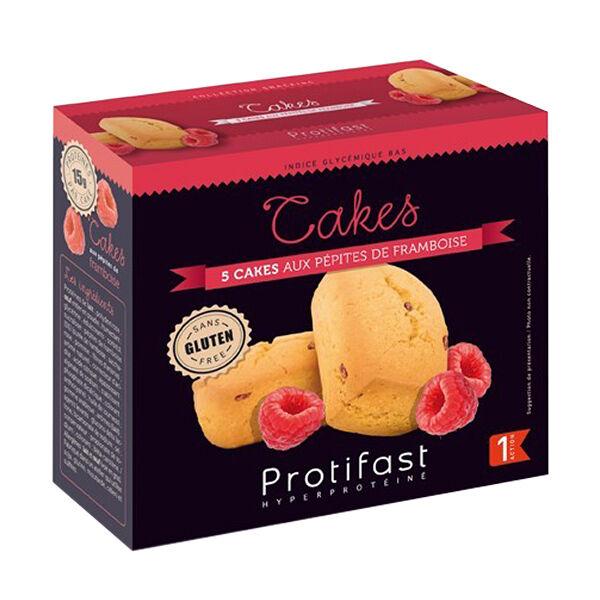 Protifast Cake aux Pépites de Framboise 5 sachets