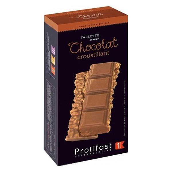 Protifast En-Cas Hyperprotéiné Tablette Chocolat Croustillant 2 x 150g