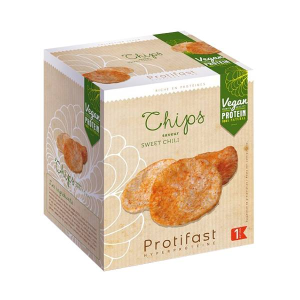 Protifast En-Cas Hyperprotéiné Chips Sweet Chili 2 sachets