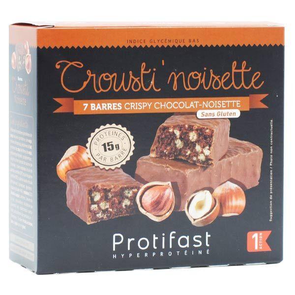 Protifast En-Cas Hyperprotéiné Crousti' Noisette 7 barres