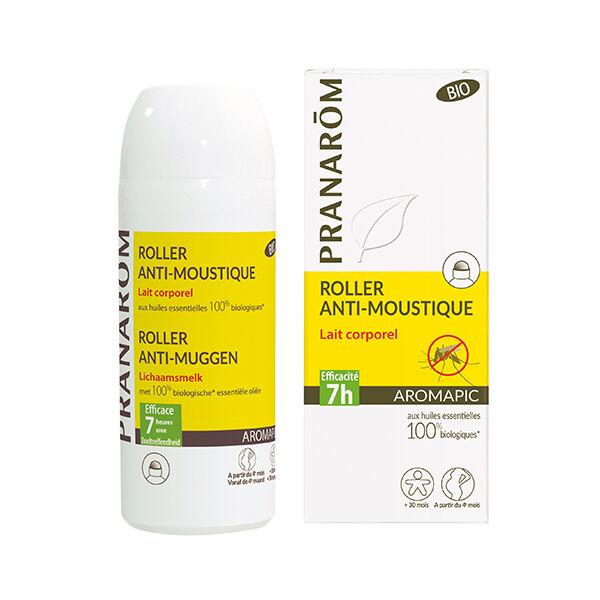 Pranarom Aromapic Roller Anti-Moustiques Bio 75ml