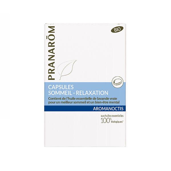 Pranarom Aromanoctis Sommeil Relaxation Bio 30 capsules