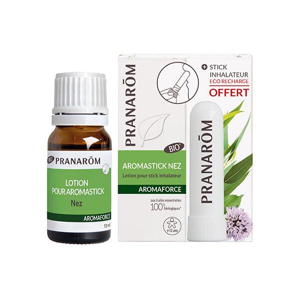 Pranarom Aromaforce Aromastick Lotion Nez 10ml + Inhalateur