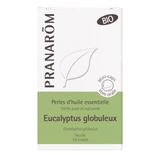 Pranarom Perles d'Huile Essentielle Eucalyptus Globuleux Bio 60 unités