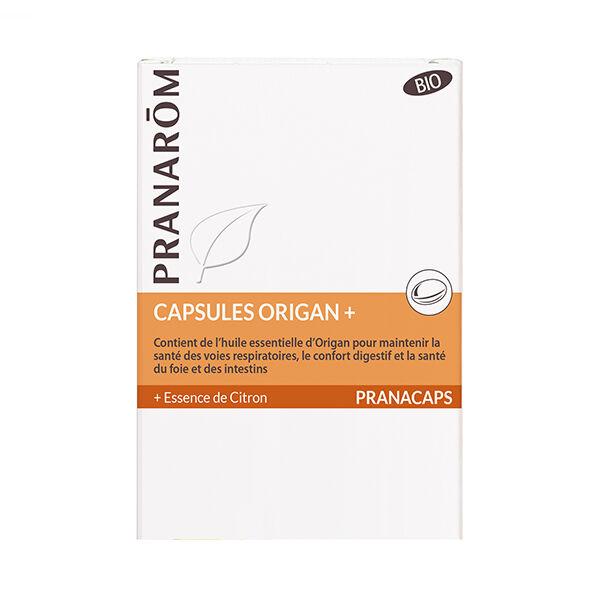 Pranarom Origan+ Bio 30 capsules
